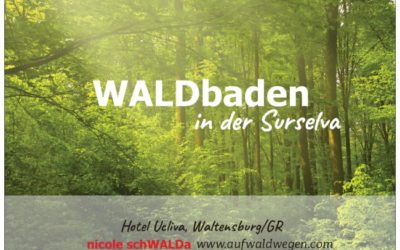 WALDbaden Ferien in der Surselva 2021